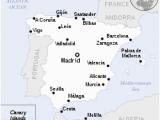 Map Of Coast Of Spain Spain Wikipedia