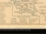 Map Of Coastal New England A Chart Of the Coast Of New England From Beverly to