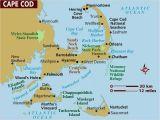 Map Of Coastal New England Maps Of Cape Cod Martha S Vineyard and Nantucket