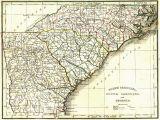 Map Of Colonial north Carolina north Carolina County Map