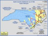 Map Of Colonial north Carolina the Royal Colony Of north Carolina the towns and Settlements In