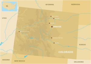 Map Of Colorado and Nebraska Colorado Mountains Map Download Free Vector Art Stock Graphics