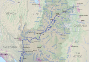 Map Of Colorado River System List Of Tributaries Of the Colorado River Revolvy