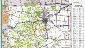 Map Of Colorado Roads Colorado Highway Map Awesome Colorado County Map with Roads Fresh