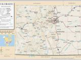 Map Of Colorado Springs area Colorado Highway Map Awesome Map Of Colorado towns and areas within