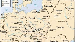 Map Of Concentration Camps In Europe Holocaust Map Of Concentration and Death Camps