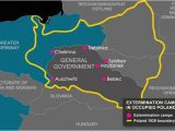 Map Of Concentration Camps In Europe Treblinka the Holocaust Explained Designed for Schools