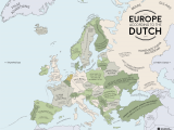 Map Of Continental Europe Europe According to the Dutch Europe Map Europe Dutch