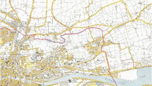 Map Of Cork City Ireland 1964 Osi Map Of Cork City Cork Past Present