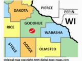 Map Of Counties In Minnesota Goodhue County Minnesota Genealogy Genealogy Familysearch Wiki