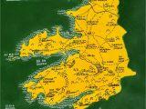 Map Of County Kerry Ireland County Kerry Ireland Map Art Irish Language the Wee Shed