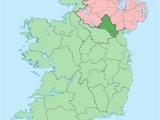 Map Of County Monaghan Ireland County Monaghan Wikipedia