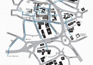 Map Of Coventry England Campus Map Information Card Edition Campus Map Coventry