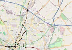 Map Of Coventry England Coventry Corporation Tramways Wikipedia