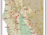 Map Of Current Fires In California Map California Map Current California Wildfires California 2019 Map