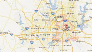 Map Of Dallas Texas and Surrounding area Dallas fort Worth Map tour Texas
