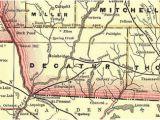 Map Of Decatur Georgia Decatur County Georgia