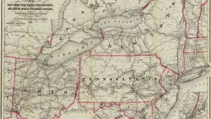 Map Of Delaware Ohio New York New Jersey Pennsylvania Delaware Maryland Ohio and