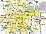 Map Of Denver Colorado and Surrounding areas Denver Metro Map Unique Denver County Map Beautiful City Map Denver