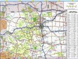 Map Of Denver Colorado and Surrounding areas United States Map Denver Colorado Inspirationa Colorado County Map
