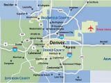 Map Of Denver County Colorado Communities Metro Denver
