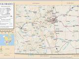 Map Of Denver County Colorado United States Map Showing Colorado Refrence Denver County Map