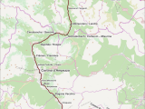 Map Of Dolomites Italy Dolomitenbahn Wikipedia