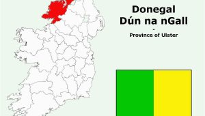 Map Of Donegal Ireland County Information and attractions In County Donegal Ireland