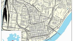 Map Of Downtown Cincinnati Ohio Map Of Downtown Cincinnati Awesome Map Downtown Columbus Ohio