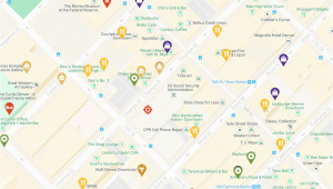Map Of Downtown Denver Colorado Denver Maps Visit Denver