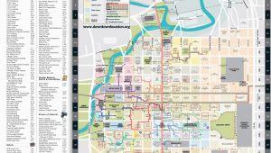 Map Of Downtown Houston Texas Map Downtown Houston