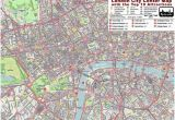 Map Of Downtown London England London City Center Street Map Free Pdf Download
