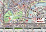 Map Of Downtown London England London Pdf Maps with attractions Tube Stations