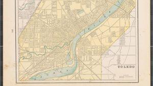 Map Of Downtown toledo Ohio Maps Of toledo Ohio and Detroit Michigan the Portal to Texas