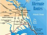 Map Of Duck north Carolina Obx Map Inspirational Map Of the Outer Banks Including Hatteras and