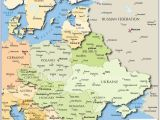 Map Of E Europe Map Of Russia and Eastern Europe