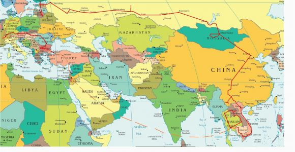 Map Of East and West Europe Eastern Europe and Middle East Partial Europe Middle East