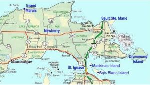 Map Of East Michigan Map Of Eastern Upper Peninsula Of Michigan Trips In 2019 Upper