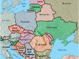 Map Of Eastern Europe Countries and Capitals Maps Of Eastern European Countries