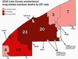 Map Of Eastlake Ohio Overdose Deaths Lake County Report Takes Closer Look at 2016 Ohio