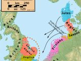 Map Of England and Europe 25 Maps that Explain the English Language Middle Ages
