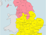 Map Of England by Region to Find the Right Bishop for the Wedding License Map Of