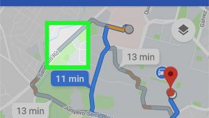 Map Of England Google Maps How to Change the Route On Google Maps On android 7 Steps