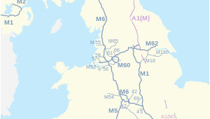 Map Of England Motorways Controlled Access Highway Infogalactic the Planetary Knowledge Core
