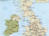 Map Of England Scotland Wales and northern Ireland Map Of Ireland and Uk and Travel Information Download Free