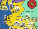 Map Of England Showing Blackpool Lancashire Map Sent to Me by Gordon Of northern Ireland