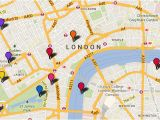 Map Of England Showing London London attractions tourist Map Things to Do Visitlondon Com
