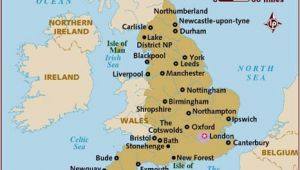 Map Of England Showing Shropshire Map Of England