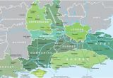 Map Of England Showing Surrey Map Of south East England Visit south East England
