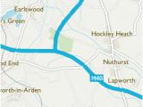 Map Of England Stratford Upon Avon Trap S Green Stratford On Avon area Information Map